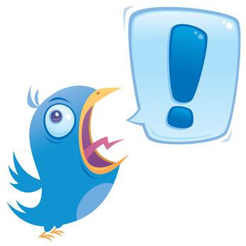 Twittern Sie, wenn Sie etwas zu sagen haben!