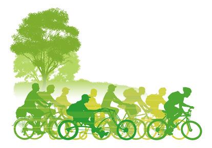 Fahrradgruppe e-Bike-Gruppe